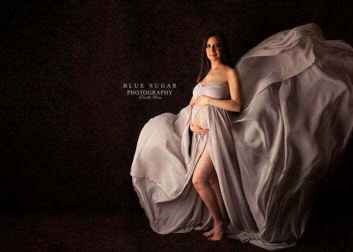 Loudoun Maternity Photographer: Raquel Gown
