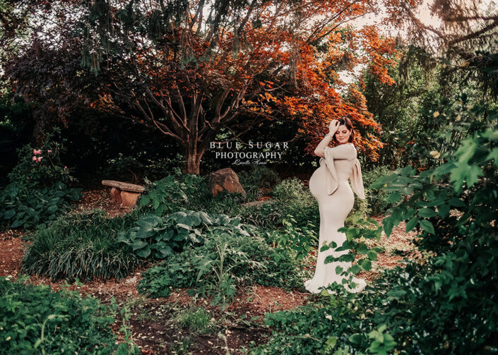 maternity photographer: vanae dress by sew trendy accessories