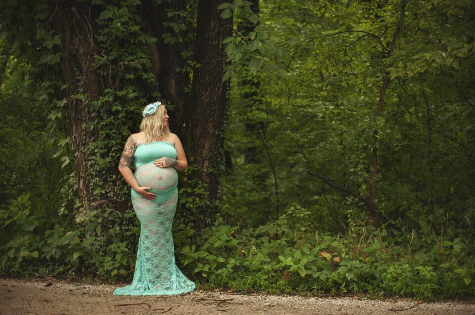 Maternity Portrait in Loudoun County VA