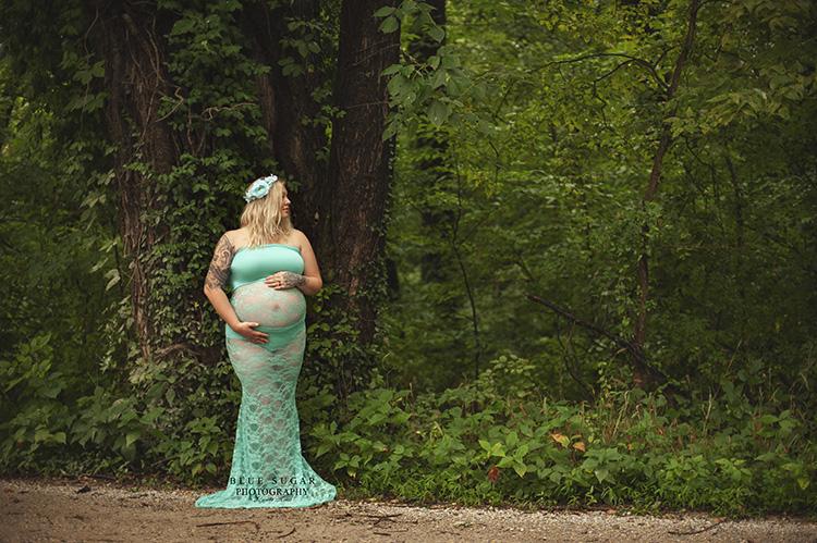 Sew Trendy Accessories Siri Maternity Gown