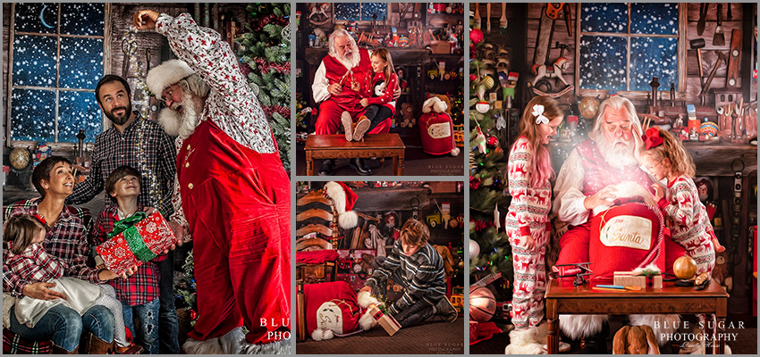 Christmas Mini Session - Virginia Santa Photographer