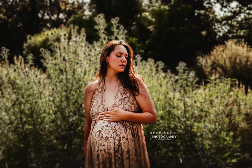 Emotional & Moody Maternity Photography