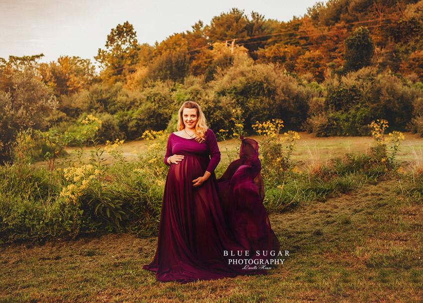 maternity photo shoot dress