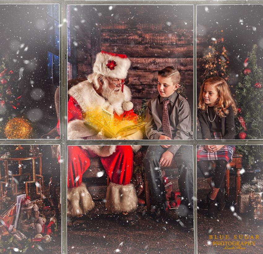 Reading with Santa