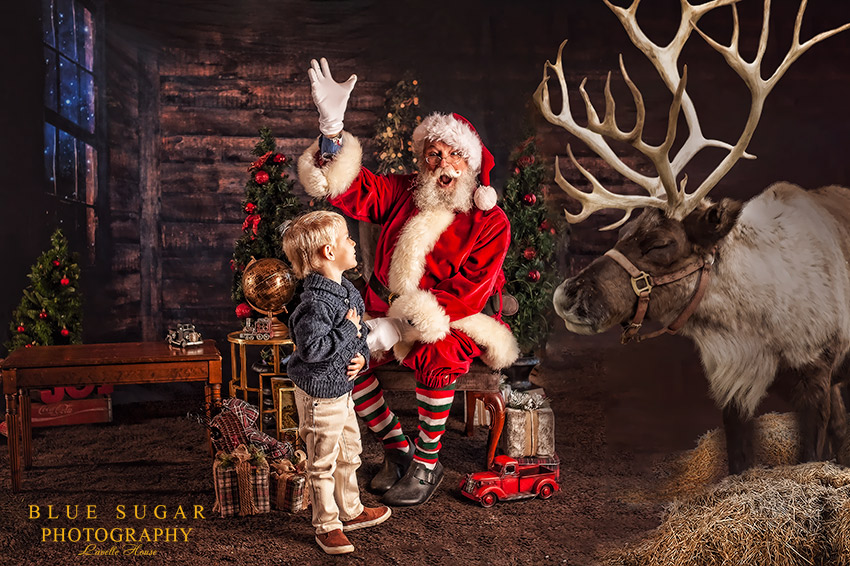 Magical Santa Photo Shoot