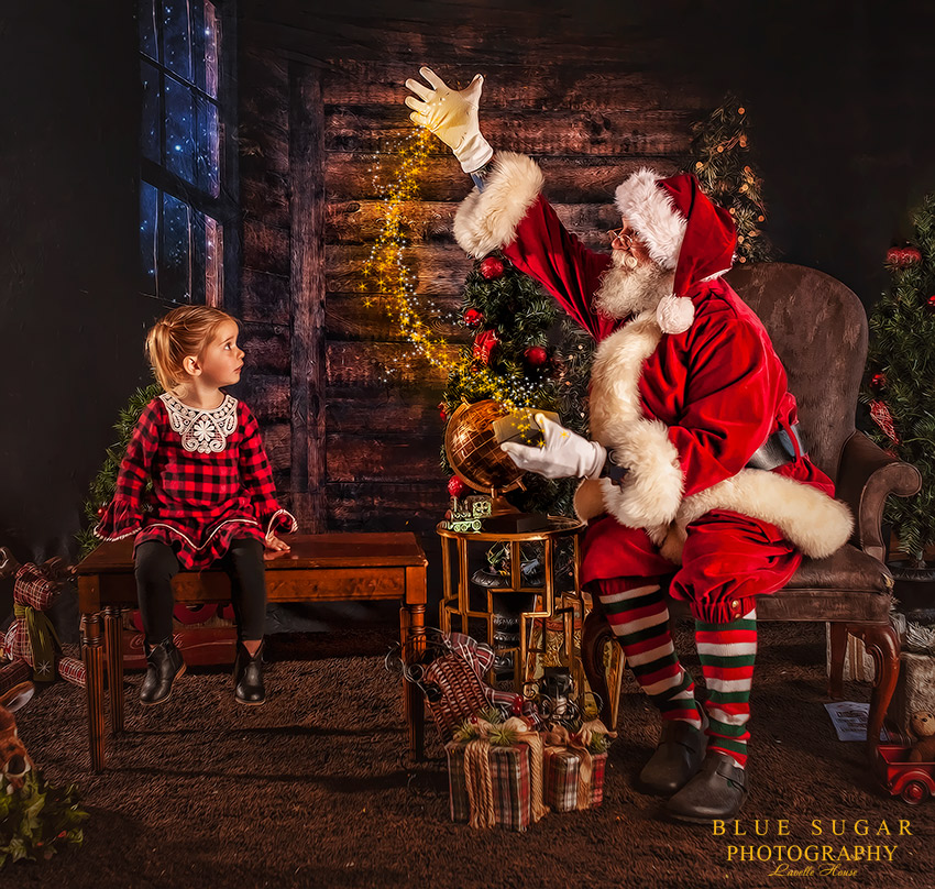 Magical Santa Photo Session