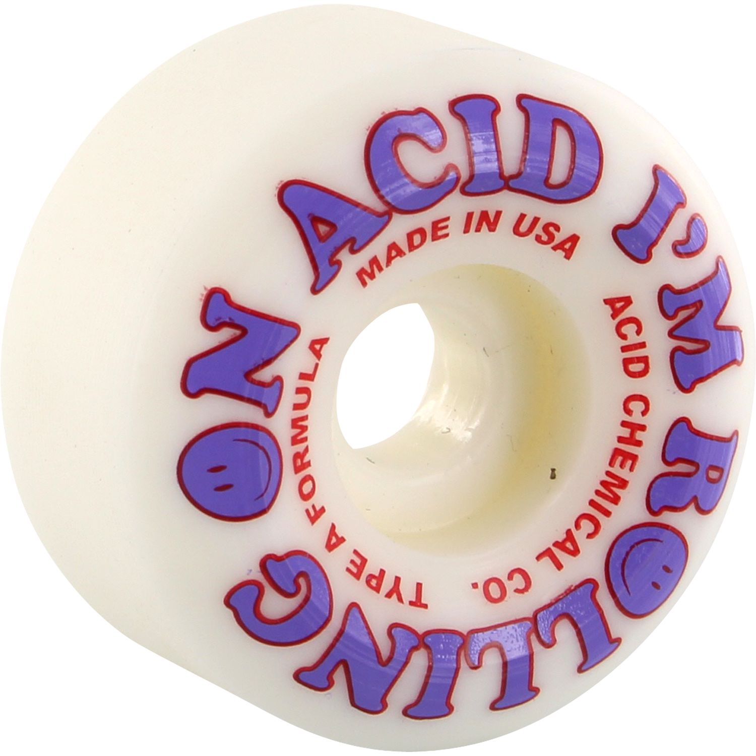 ACID ROLLING SIDECUTS 52mm WHT/PUR