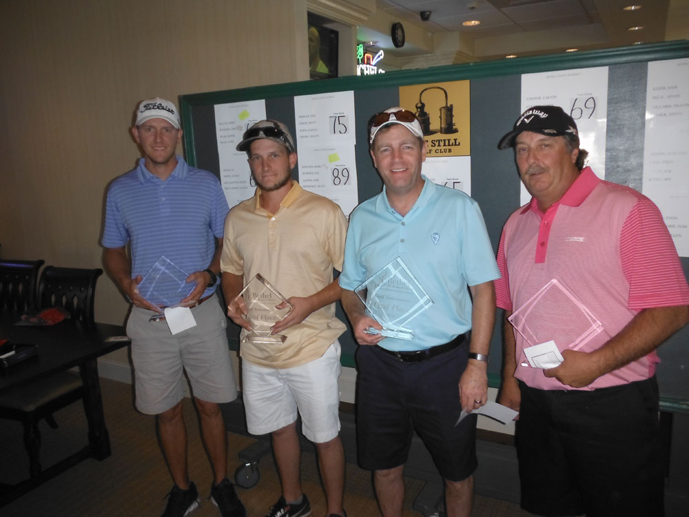 Golf Tournament – 1st place