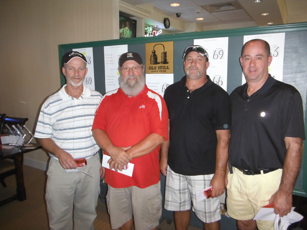 Golf Tournament – 2nd place