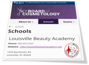 Louisville Beauty Academy - Licensed and Accredited School by KY State Board of Cosmetology and Hairdresser