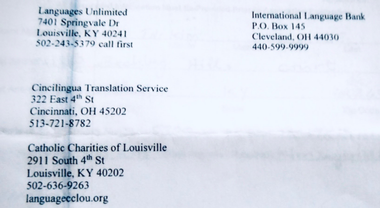 Louisville Beauty Academy - KY Stateboard of Cosmetology and Hairdresser - Preferred Language Translation Agency