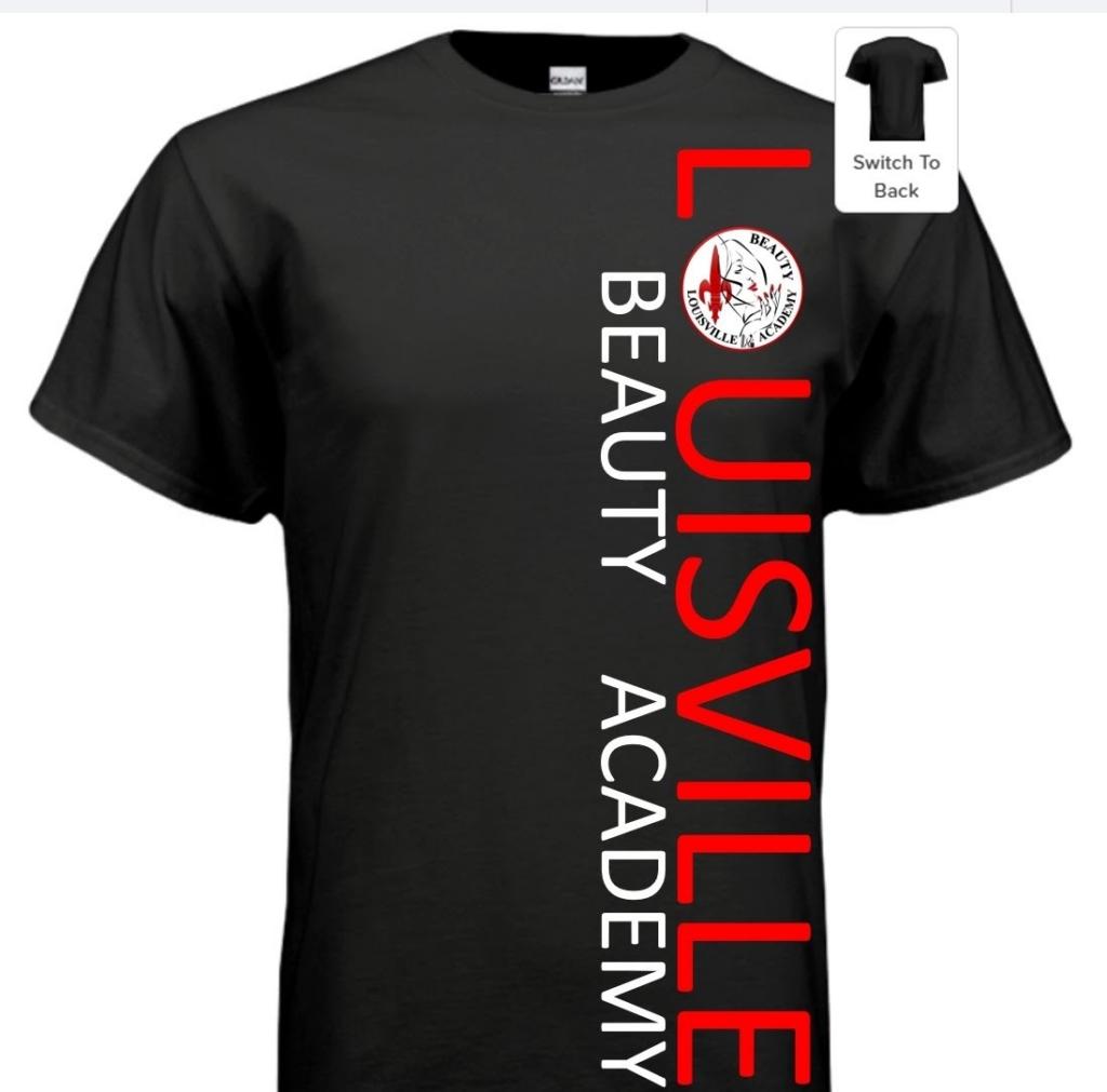 Louisville Beauty Academy - Verticle Log - TShirt
