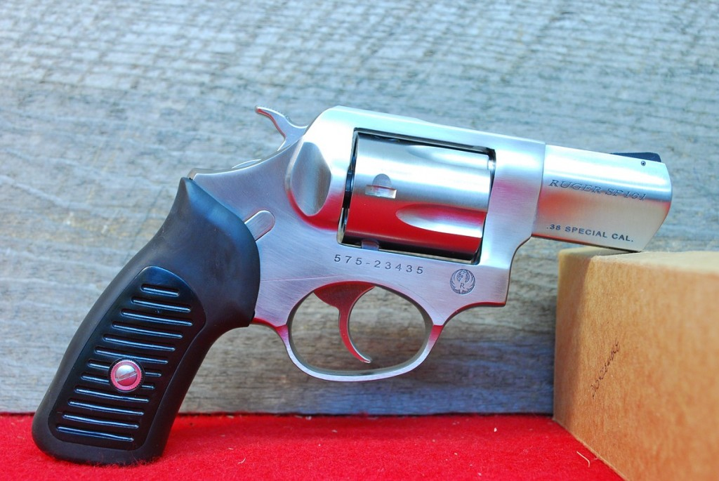 Ruger SP-101 Stainless 2