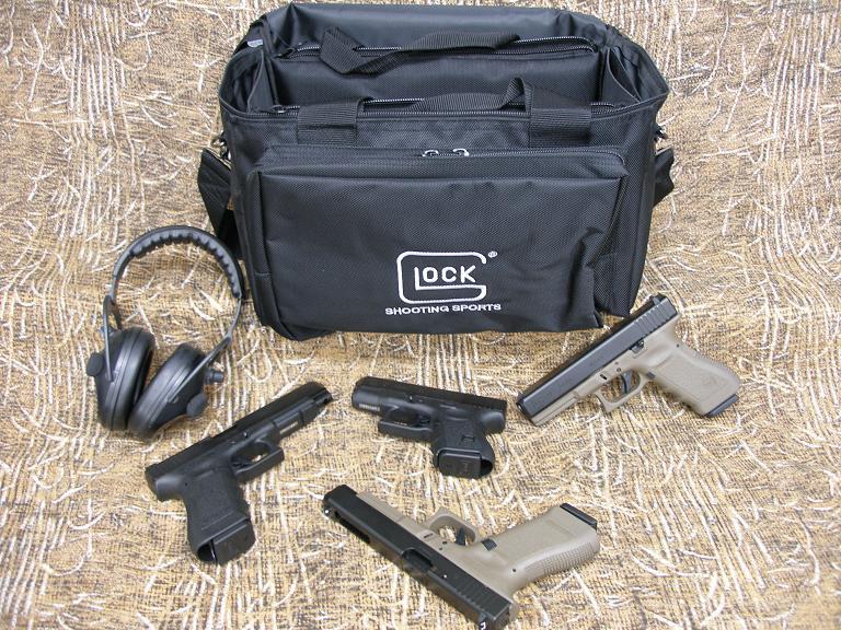 Glock Deluxe Range Bag