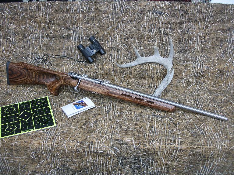 Savage Model 93R .17 HMR Rifle