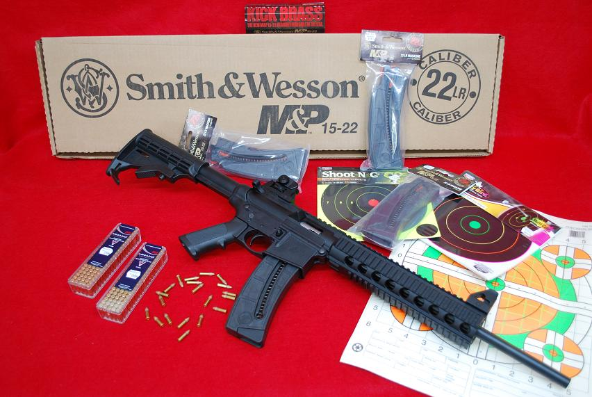 Smith & Wesson M&P 15-22 W. 25 Round Mag