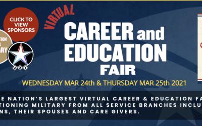 March 24 & 25 – Career & Education Fair
