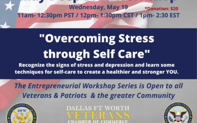May 19, 2021 – Overcoming Stress through Self Care