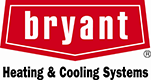 Bryant Heating & Cooling logo showing association with indoor air quality service Charlie's Tropic Heating & Air servicing Jacksonville, FL