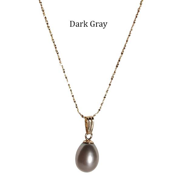 Teardrop-Pearl-on-Gold-Chain-Golden-Dark-Gray