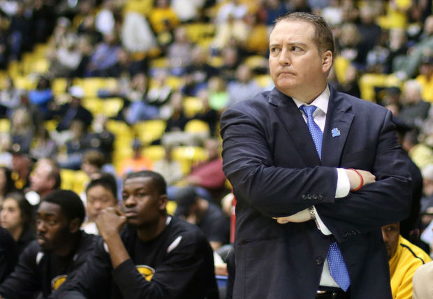 Southern Miss head coach Donnie Tyndall and the Golden Eagles have won seven straight games. (Patrick Lowery / gulflive.com)