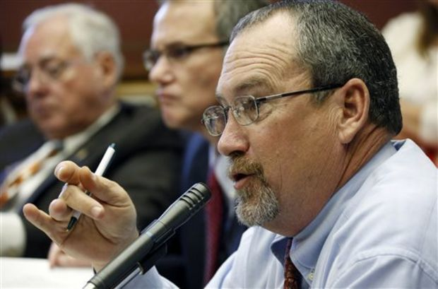 House Appropriations Committee chairman Herb Frierson, R-Poplarville (AP Photo/Rogelio V. Solis)