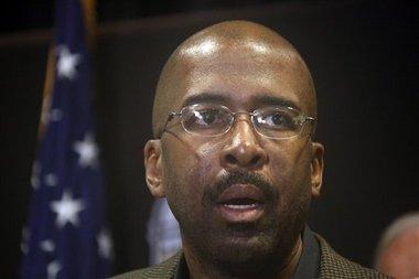 University of Southern Mississippi President Rodney Bennett (AP Photo/Rogelio V. Solis)