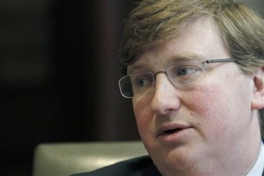 Republican Lt. Gov. Tate Reeves (AP Photo/Rogelio V. Solis)