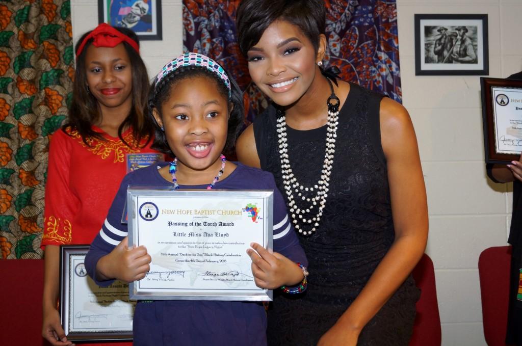 Assata Demyers, Ava Lloyd and Jasmine Murray, Miss Mississippi 2014