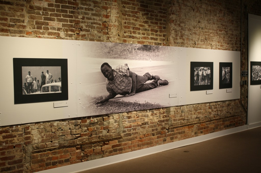 """The exhibition at Smith Robertson Museum and Cultural Center called """"James Meredith: Am I Or Am I Not a Citizen"""" displays several historical photos. PHOTOs BY Shanderia K. Posey"""