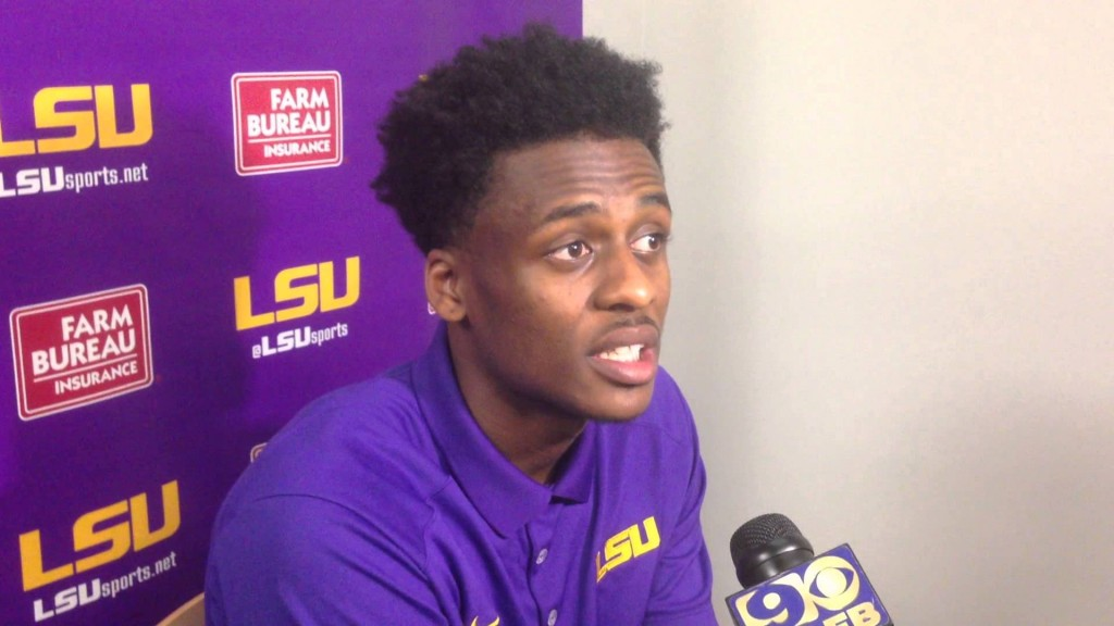 LSU guard Antonio Blakeney