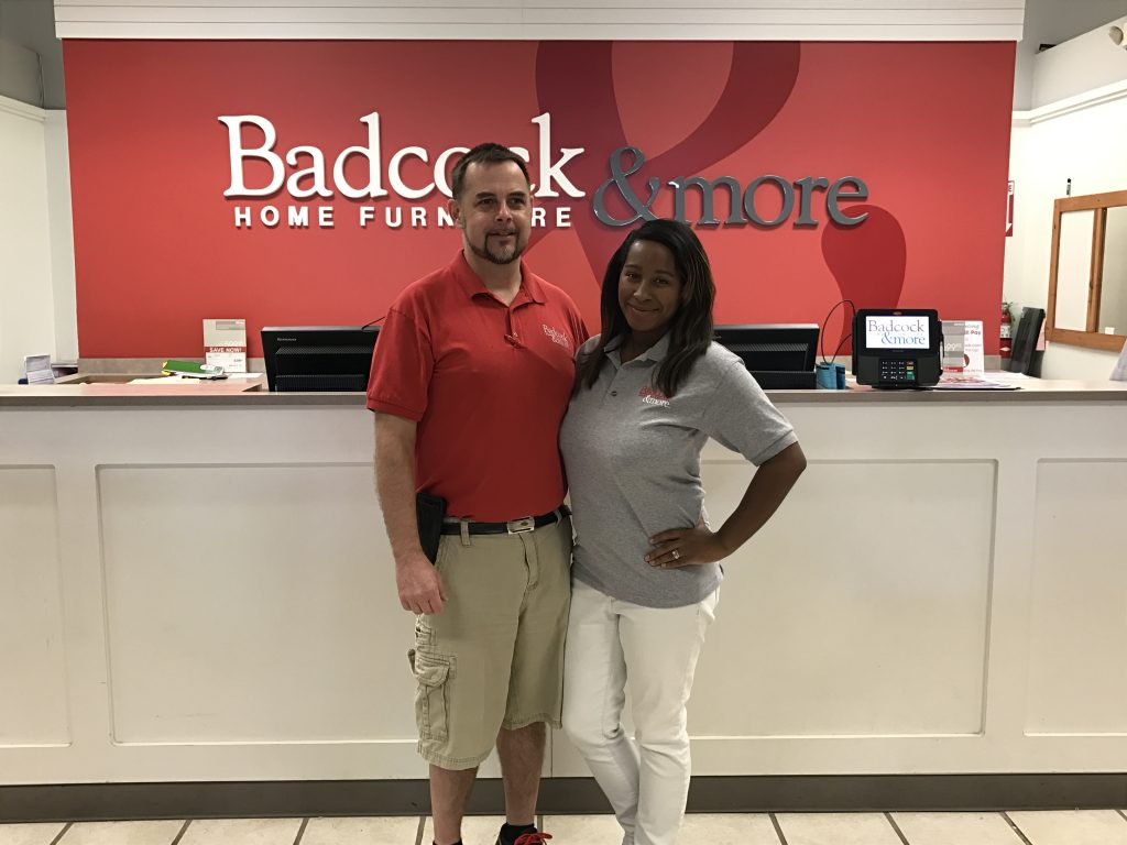 Robert and Val'Dicia Bennett are the owners of Badcock & More Furniture in Biloxi. The store grand reopening will take place Oct. 13-16.