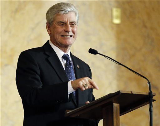Mississippi Gov. Phil Bryant AP file photo