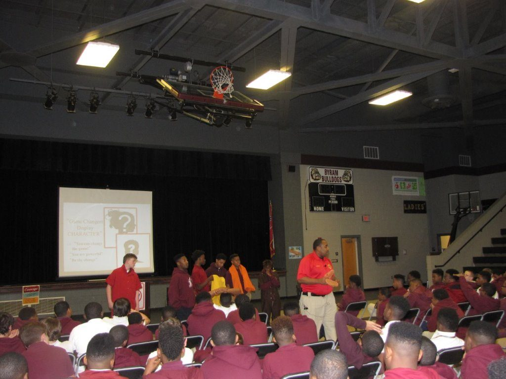 Kenneth Bryant, Community Relations – Hinds County Sheriff's Department, encourages students to make the right choices to avoid negative consequences.