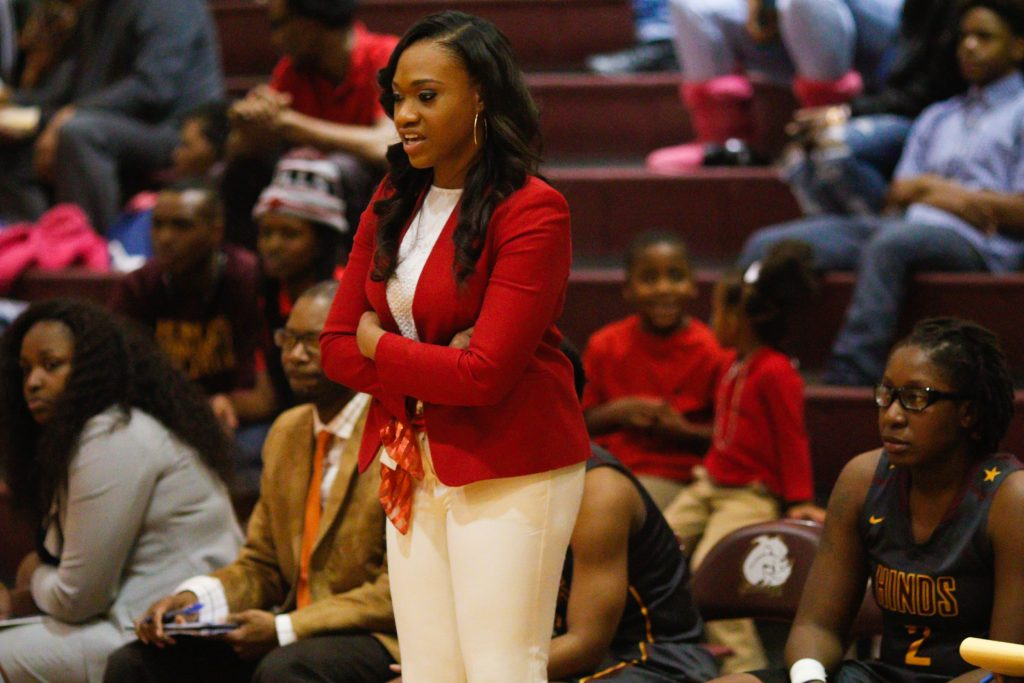 Coach Reed and her staff have turned basketball around Hinds Utica.   PHOTOS BY TIM WARD
