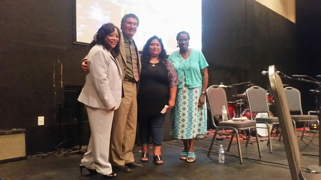 Maggie Wade, Juan Gonzalez, Maria Lopez and Patricia Ice PHOTO BY BILL CHANDLER