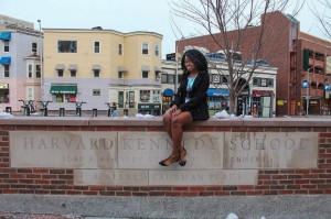 Sophomore Jasmine King said Harvard's Public Policy and Leadership Conference gave her a chance to shake off her shyness. (Photo special to JSU.)
