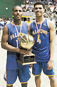 Nick and Quinndary Weatherspoon in 2015 capturing a state championship together.