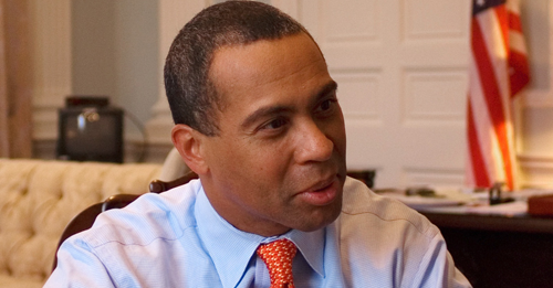 Former Governor Deval Patrick of Massachusetts Photo: Scott LaPierre [CC BY 2.0 (https://creativecommons.org/licenses/by/2.0)] / Wikimedia Commons)