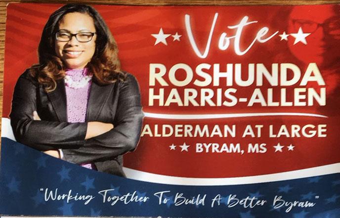 Vote Roshunda Harris-Allen – Alderman at Large
