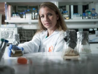 """Artificial sweeteners may be problematic in the long run,"""" according to lead researcher of a new study, Dr. Karina Golberg at Ben-Gurion University's Laboratory of Environmental Biotechnology. (Dani Machlis/BGU)"""