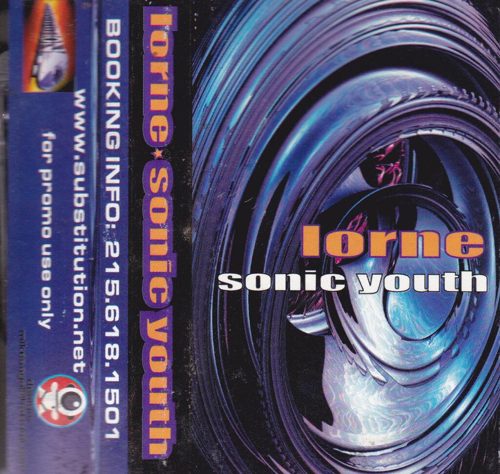 DJ Lorne Sonic Youth Mixtape Cover