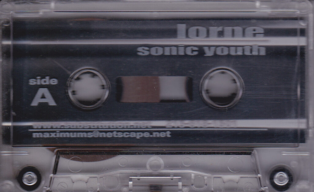 Lorne Sonic Youth Cassette Side A