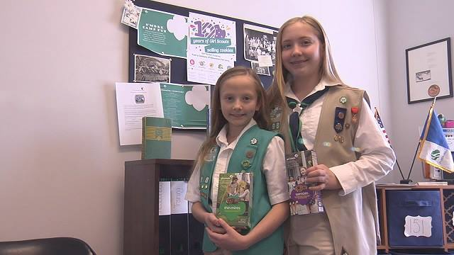 Photo of Murfreesboro Girl Scout saves sister from choking
