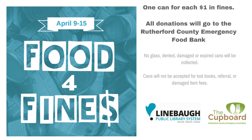 Photo of Food for Fines Week is April 9 -15: Give to a Good Cause for What You Owe