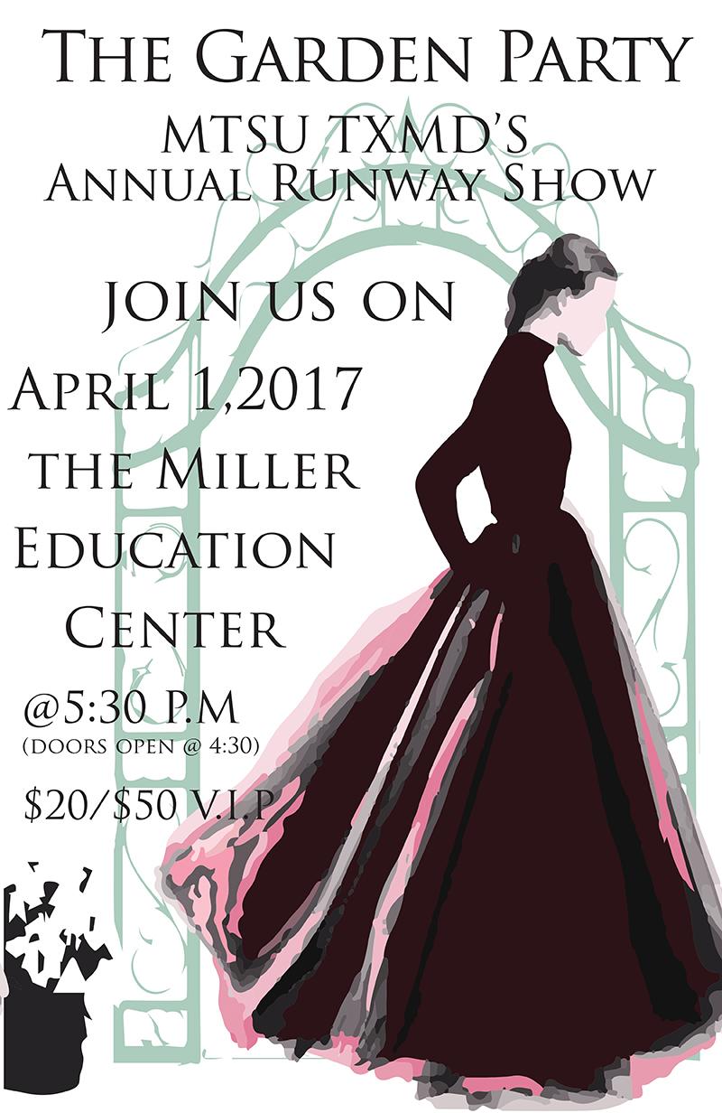 Photo of 'The Garden Party': MTSU Textiles Merchandising, Design Runway Show set April 1