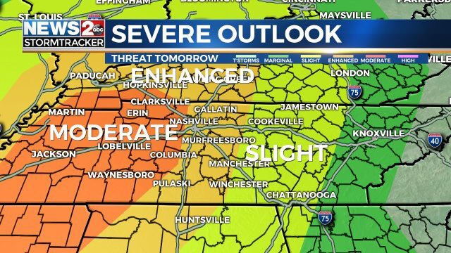 Photo of Thursday's severe storm threat is worst of the season