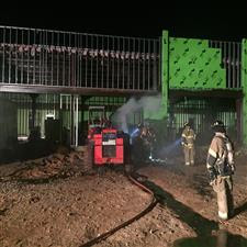 Photo of Early Morning Equipment Fire