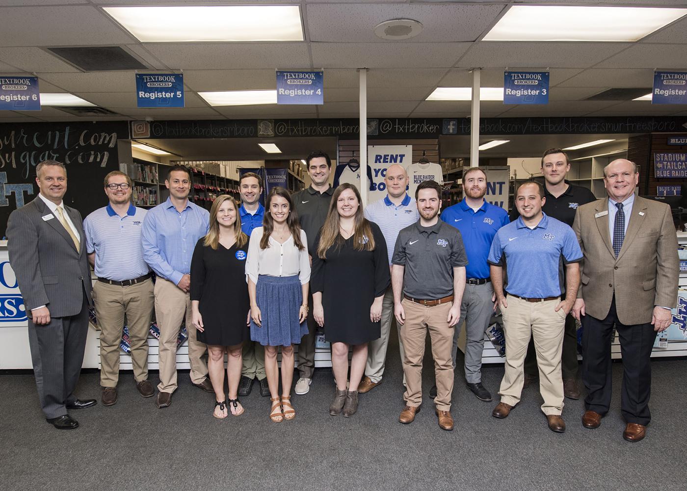 Photo of Textbook Brokers creates scholarship for MTSU Jones College of Business majors