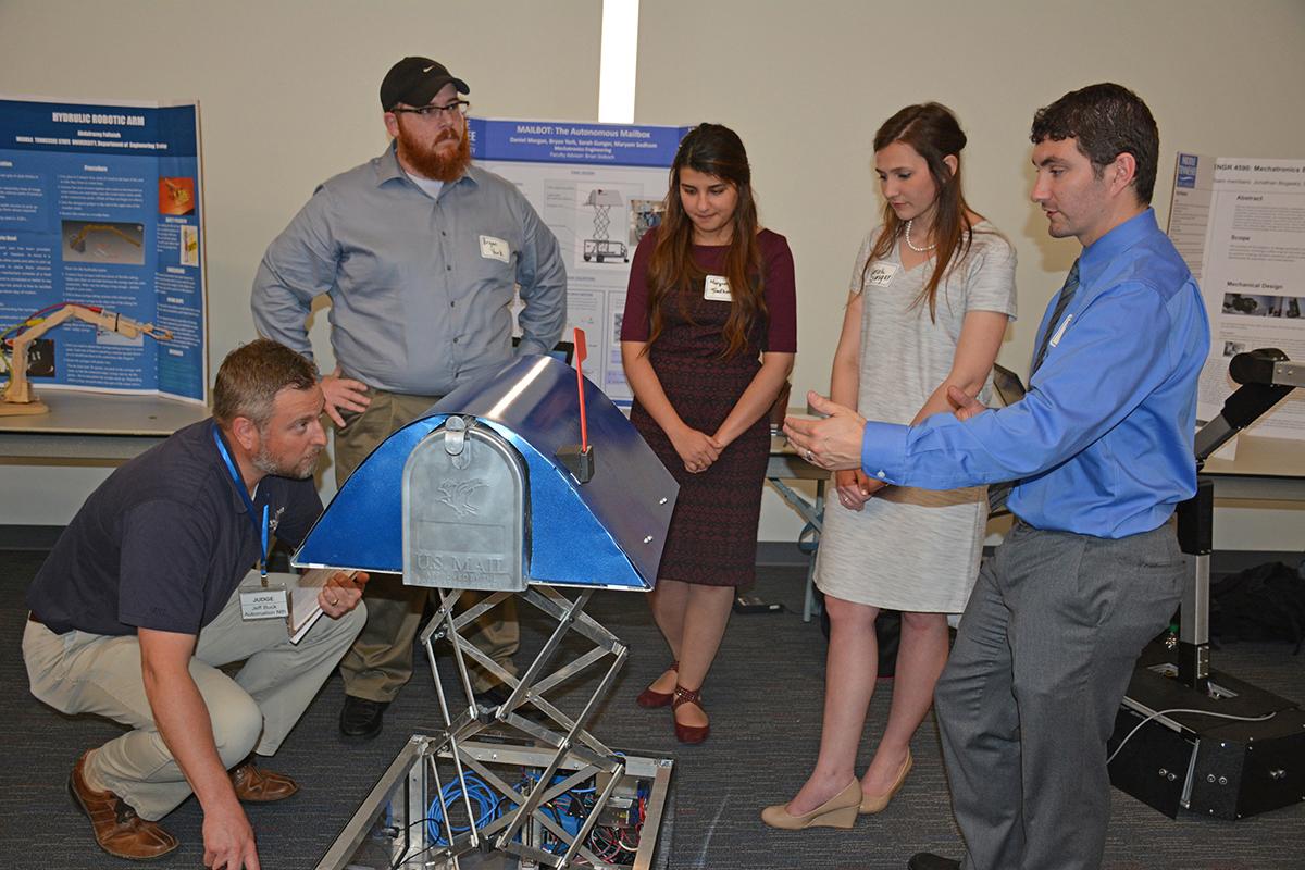 Photo of Student-made robots, gadgets highlight MTSU technology event
